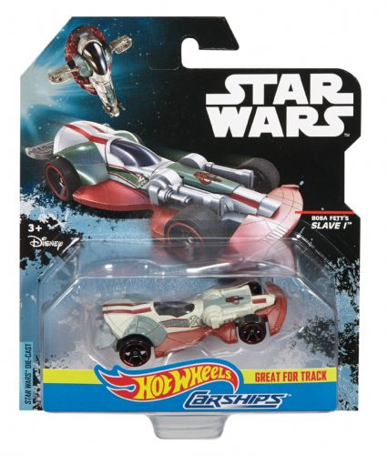 Star Wars Hot Wheels Boba Fett's Slave 1 Vehicle